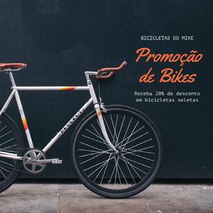 Promoção <BR>de Bikes Tamanho de imagem do Instagram