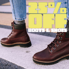 Boot and Shoe Store Sale Instagram Square Ad Deal