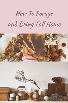 Beige and Pink Autumn Decorations Collage Pinterest Autumn