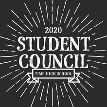 Black and White, Student Council, Instagram Square 101 Templates - Aspiring Communicator