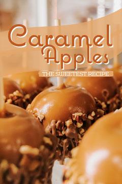Caramel Brown Apples Pinterest Post  Recipes