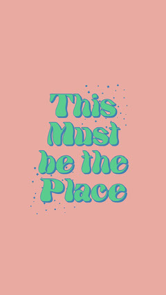 This <BR>Must <BR>be the <BR>Place Stars