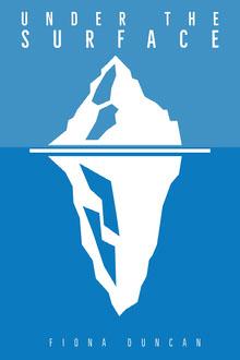 Iceberg Book Cover  Copertina libro