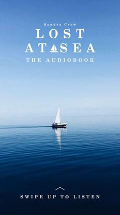 Lost at Sea Audio Book Instagram Story Ocean