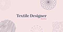 purple pink pattern facebook Pattern Design