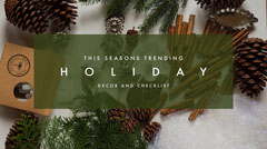 Green and Brown, Light Toned Facebook Banner Decor