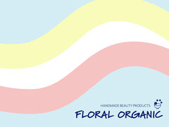 pastel blue pink yellow wavy organic beauty products facebook shop cover Shopping