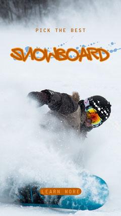 Snowboard Buying Instagram Story Winter