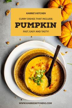 Pumpkin Curry Recipe Pinterest Post Cooking