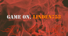 Orange and Red Burning Fire Style Twitch Banner Banner per Twitch