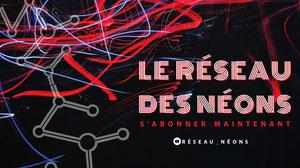 neon network twitch banner  Bannière