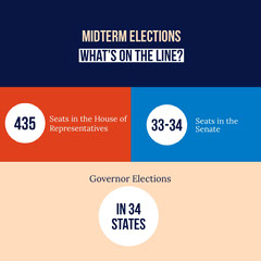 Colorful Voter Guide Social Post Voting