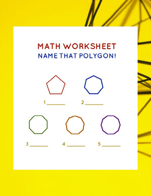 White and Yellow Math Worksheet Kostenlose Mathe-Arbeitsblattvorlagen