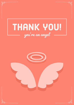 Thank you! Baby Shower Thank You Card