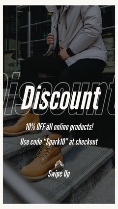 10% Discount Instagram Story Story