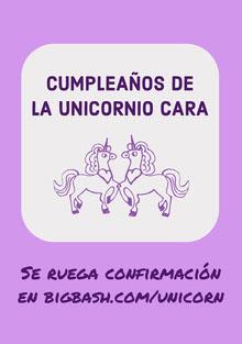 purple unicorn birthday cards  Tarjeta de cumpleaños
