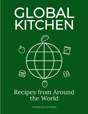 Green Minimal Cook Book Cover Cook Book Cover