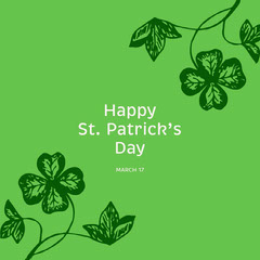 st. patrick's day instagram  Leaf