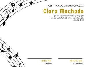 Clara Machado  Diploma