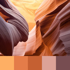 Color Palettes | Earthy 7 101 Brilliant Color Combos