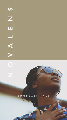 Beige and Borwn Toned Sunglasses Sale Instagram Story 101 Templates - Starter Pack