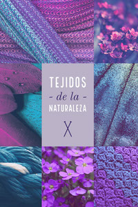 TEJIDOS<BR>- de la -<BR>NATURALEZA Fotocollage