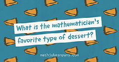 Blue and Orange Patterned Math Jokes Facebook Banner  Jokes