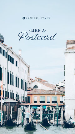 Postcard Italy