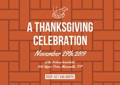 thanksgiving invitation  Thanksgiving