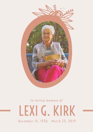 LEXI G. Kirk Program
