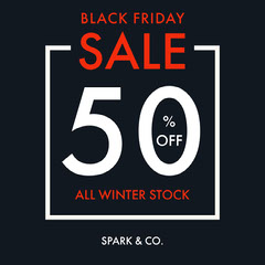 Black Friday Sale 50% igsquare Thanksgiving Sale