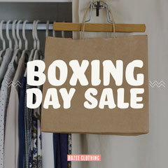 Boxing Day Rozee Clothing IG Square Boxing
