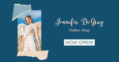 Blue Fashion Online Shop Now Open Facebook Post New Collection
