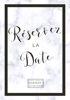 wedding announcements  Invitation de mariage