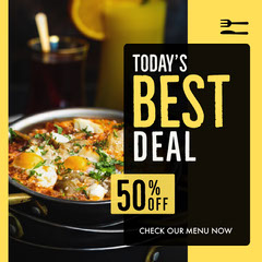 Today's Best Deal Instagram Square Deal