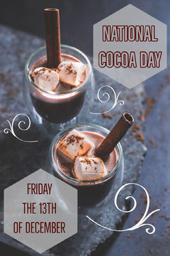 national cocoa day pinterest  Drink