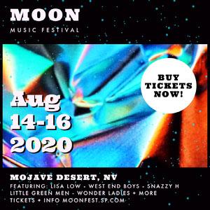 moon music festival igsquare Music Festival Poster
