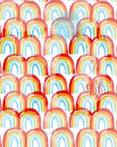 Store Sale Instagram Portrait Graphic with Rainbows Rainbow