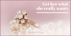 Pink Diamond Ring Jeweler Shop Facebook Ad Jewelry