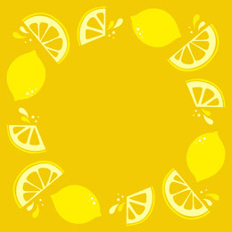 Yellow, Bright Lemon Frame Instagram Post  Artists Collection: Adobe Spark Stylemakers