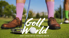 Green Golf World Youtube Channel Art Educational Course