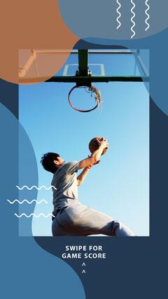 Blue Basketball Igstory Sports