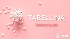 TABELLINA Miniature per YouTube