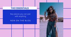 facebook ad clothing fashion blog entry  Promotion