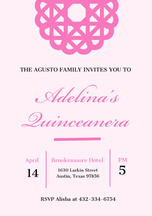 Best Free Quinceanera Invitation Templates And Ideas
