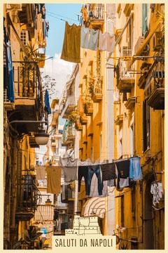 Napoli postcard Vacation