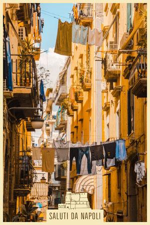 Napoli postcard Urlaubspostkarte
