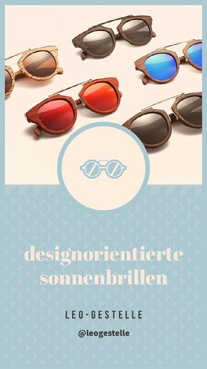 designorientierte <BR>sonnenbrillen  Instagram Storys