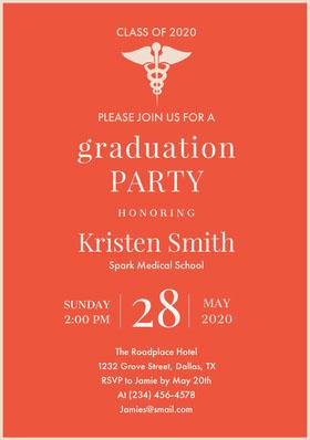 28 Graduation Invitation