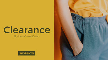 Blue and Yellow Fashion Ad Twitter Banner Twitter Image Size